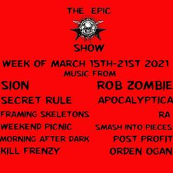 This week on The Epic Show tons of music submissions, new releases and more of your favorites…