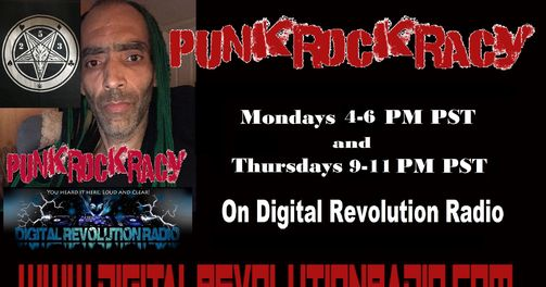 Don't Forget, Punkrockracy is on its way 7 PM EST, followed by Thrash Zone