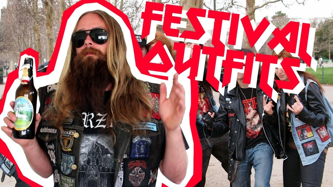 👗 Metal Festival Outfit 👗 What to wear to a Metal Festival